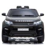 Elektrische Kinderauto Land Rover Discovery Zwart 12V Met Afstandsbediening FULL OPTIONS