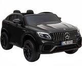 Elektrische Kinderauto Mercedes Benz GLC 63 S Zwart 2 Persoons 12V Met Afstandsbediening FULL OPTIONS_