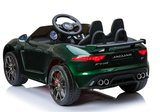 Elektrische Kinderauto Jaguar F-Type 12V met Afstandsbediening - Groen
