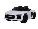 Elektrische Kinderauto Audi R8 Spyder Wit 12V Met Afstandsbediening_