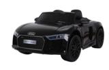 Elektrische Kinderauto Audi R8 Spyder Zwart 12V Met Afstandsbediening_