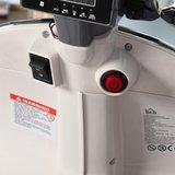 Elektrische Kinderscooter Vespa 946 Primavera GTS Blauw 12V met Windscherm en Lederen zitting _