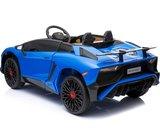 Elektrische Kinderauto Lamborghini Aventador SV Blauw 12V Met Afstandsbediening _