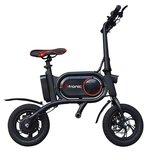 I-tronic Z01 Elektrische Vouwfiets E-bike - Zwart _