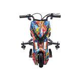 Elektrische Drift trike Kart 250W 36V Versie 2.0 Hip-Hop met achter vering_