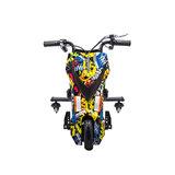 Elektrische Drift Trike Kart 250W 36V Graffiti Zwart_