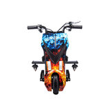 Elektrische Drift Trike Kart 250W 36V Vlammen Rood en Blauw_