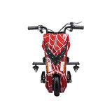 Elektrische Drift Trike Kart 250W 36V Spider Rood_