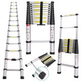 Telescopische Ladder 3.8 Meter - Aluminium_