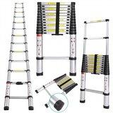 Telescopische Ladder 2.6 Meter - Aluminium_