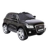 Elektrische Kinderauto Audi Q5 Zwart 12V Met Afstandsbediening