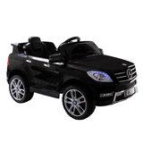 Elektrische Kinderauto Mercedes Benz ML350 Zwart 12V Met Afstandsbediening_