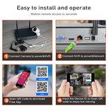 Draadloze beveiligingscamera set met 8 camera NVR Kit_