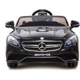Elektrische Kinderauto Mercedes Benz S63 AMG Zwart 12V Met Afstandsbediening       _