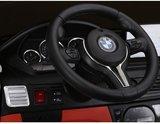 Elektrische Kinderauto BMW X6M Zwart 12V Met Afstandsbediening 2 Persoons Auto_