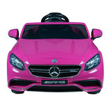Elektrische Kinderauto Mercedes Benz S63 AMG Roze 12V Met Afstandsbediening_