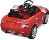 Elektrische Kinderauto Mercedes-Benz SLS AMG Rood 6V Met Afstandsbediening_