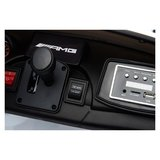 Elektrische Kinderauto Mercedes Benz GT R Zwart 2 Persoons Auto 24V Met Afstandsbediening FULL OPTIONS_