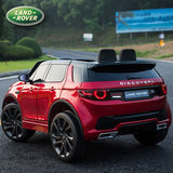 Elektrische Kinderauto Land Rover Discovery Rood 12V Met Afstandsbediening FULL OPTIONS