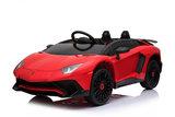 Elektrische Kinderauto Lamborghini Aventador SV Rood 12V Met Afstandsbediening _