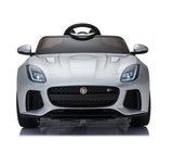Elektrische Kinderauto Jaguar F-Type 12V met Afstandsbediening - Zilver