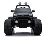 Elektrische Kinderauto Ford Monster Truck 4x4 - Zwart met Mp4 Scherm en Afstandsbediening FULL OPTION_