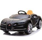 Elektrische Kinderauto Bugatti Chiron 12V met Afstandsbediening - Zwart _