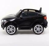 Elektrische Kinderauto BMW X6M Zwart 12V Met Afstandsbediening _