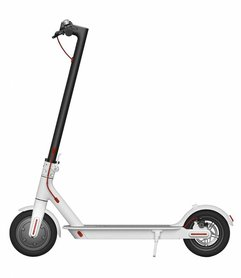 Elektrische Scooter Step I-Tronic - Opvouwbaar - Wit