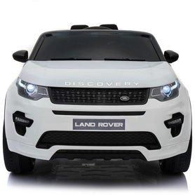 Elektrische Kinderauto Land Rover Discovery Wit 12V Met Afstandsbediening FULL OPTIONS