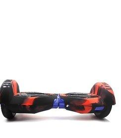 Beschermhoes Hoverboard 8,5 inch - Zwart / Oranje / Rood