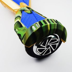 Beschermhoes Hoverboard 8,5 inch - Camouflage Groen