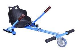 Hoverkart – Hoverseat voor Hoverboard – Blauw met Zwart