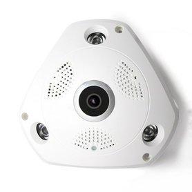 IP Camera - Panoramische draadloze 360° Fisheye Wi-Fi beveiligingscamera