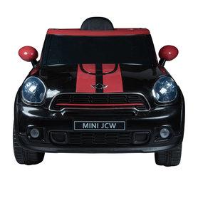 Elektrische Kinderauto Mini Cooper Paceman Zwart 12V Met Afstandsbediening