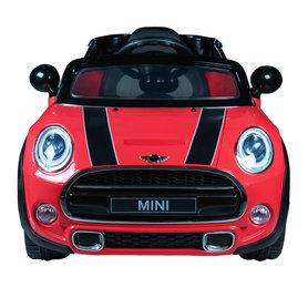 Elektrische Kinderauto Mini Cooper Rood 12V Met Afstandsbediening