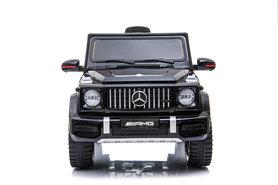 Elektrische Kinderauto Mercedes-Benz G63 AMG Zwart 12V Met Afstandsbediening