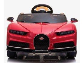 Elektrische Kinderauto Bugatti Chiron 12V met Afstandsbediening - Rood