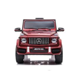 Elektrische Kinderauto Mercedes-Benz G63 AMG Rood 12V Met Afstandsbediening FULL OPTION
