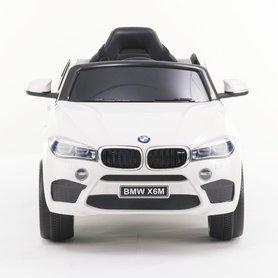 Elektrische Kinderauto BMW X6M Wit 12V Met Afstandsbediening