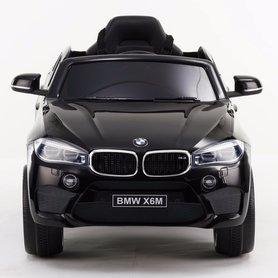 Elektrische Kinderauto BMW X6M Zwart 12V Met Afstandsbediening