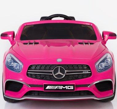 Elektrische Kinderauto Mercedes-Benz SL65 AMG Roze 12V Met Afstandsbediening