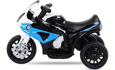 Elektrische kindermotor / driewieler - BMW S 1000 RR - Blauw