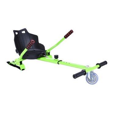 Hoverkart – Hoverseat voor Hoverboard – Groen met Zwart