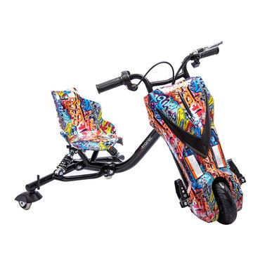 Elektrische Drift trike Kart 250W 36V Versie 2.0 Hip-Hop met achter vering