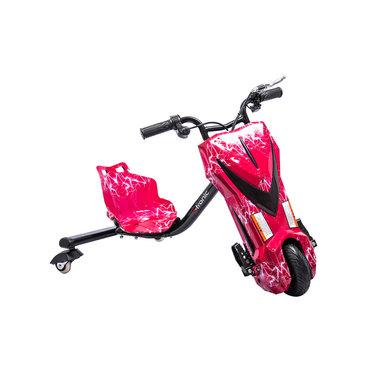 Elektrische Drift Trike Kart 250W 36V Bliksem Rood