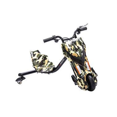 Elektrische Drift Trike Kart 250W 36V Camouflage Leger