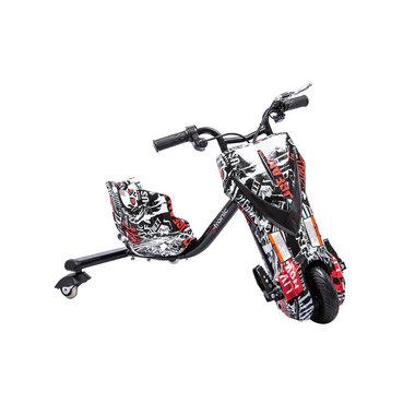 Elektrische Drift Trike Kart 250W 36V Skull Zwart