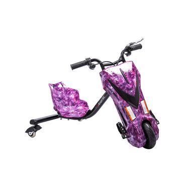 Elektrische Drift Trike Kart 250W 36V Sky Paars
