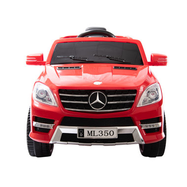 Elektrische Kinderauto Mercedes-Benz ML350 Rood 12V Met Afstandsbediening